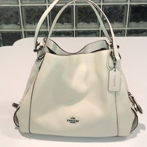 Beautiful authentic COACH off white purse